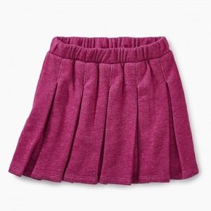 Tea Collection Pleated Knit Skirt